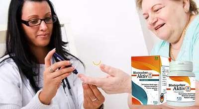Капсулы Blutzucker Aktiv от диабета.